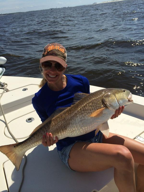 pensacola redfish